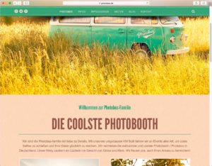 Screenshot von photobus.de