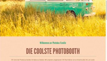 Screenshot von photobus.de