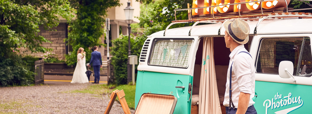 Photobus als Photobooth für eure Hochzeit mieten