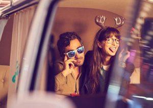 Coole Selfies mit der Fotobox in unserem Fotobus