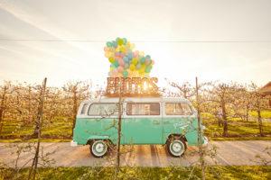 Der Photobus, die Photobooth Fotobox im VW Bulli