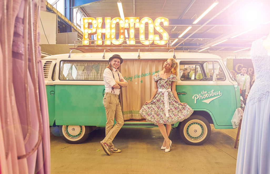 Photobus auf der Hochzeit Messe Trau in VS