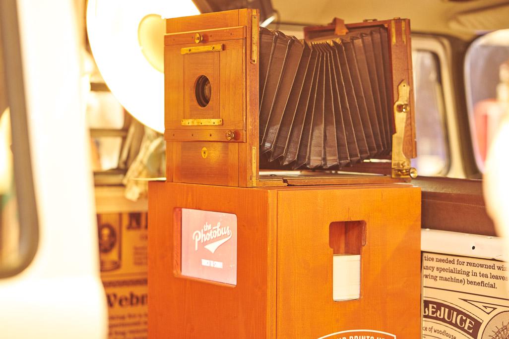 Die Photobooth des Photobus auf der Hochzeitsmesse VS