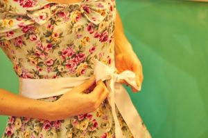 Photobus Mama im Petticoat