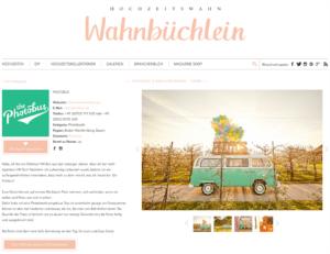 der Photobus im Wahnbüchlein bei Hochzeitswahn