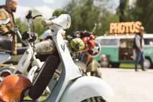 Fotobus beim Vespa Club Bodensee Event tre nazioni