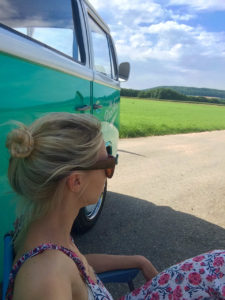 VW Bus Roadtrip mit Mintymama