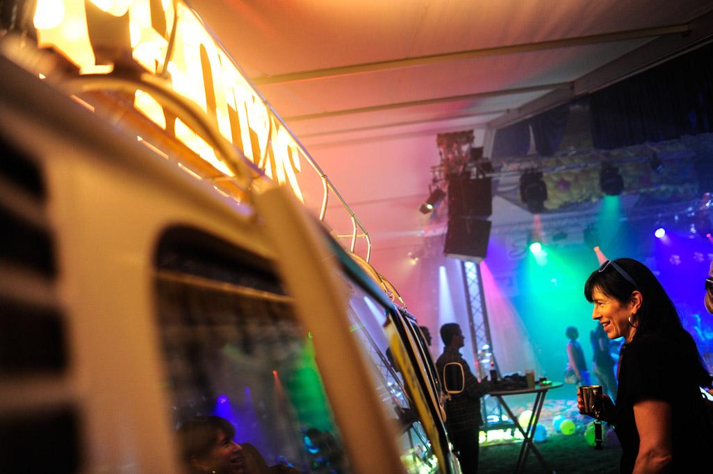 Der Photobus beim Bierzeltfest in Merklingen war ein echt Hingucker