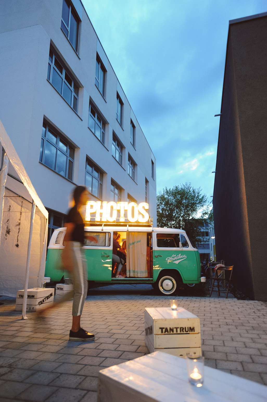 Der Photobus und die Photo Both beim Event in Konstanz