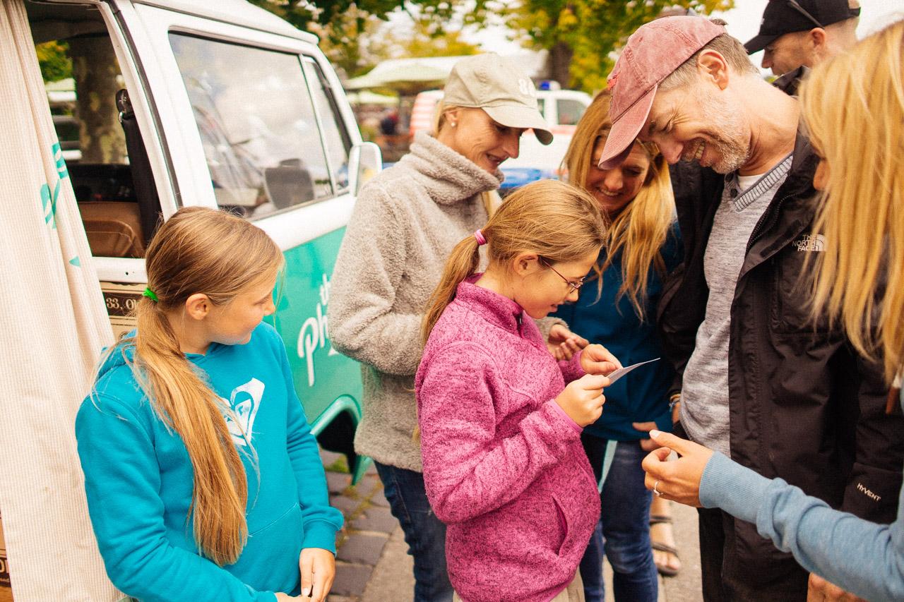 Die Photobooth im Photobus ein Spass für die ganze Familie in Konstanz am Bodensee