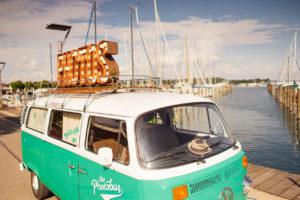 Der Photobus am Bodensee beim Oldtimerbruchnch Konstanz 2017