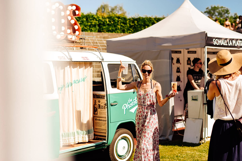 GuteZeit Festival mit dem Photobus