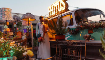 Hochzeit von Julia und Andreas mit Minty in Konstanz