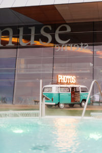 Der Photobus in Konstanz an der Bodensee Therme als Eventspecial