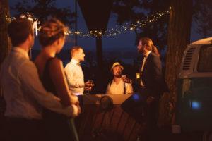 Tom Klein von Klein Events beim Vintage Wedding Shooting am Bodensee