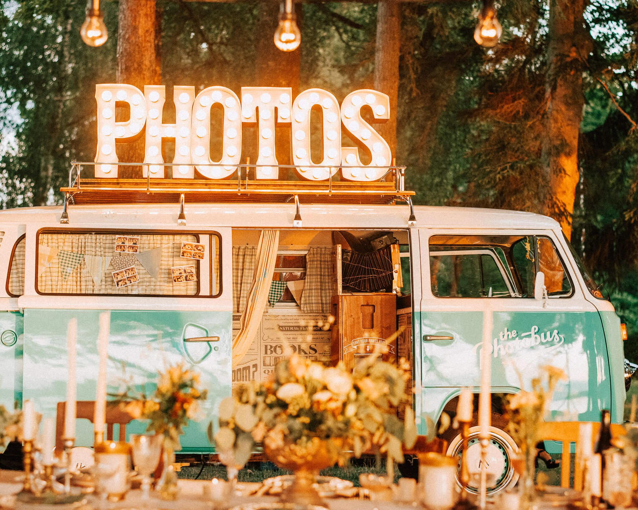 Photobus am Bodensee für Hochzeit
